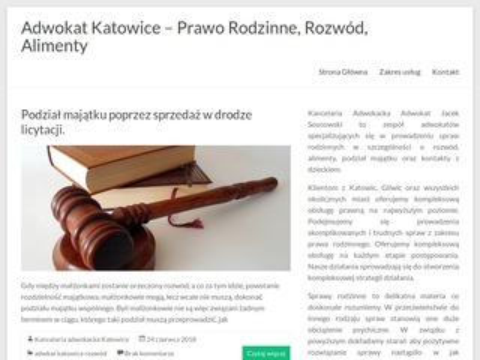 Adwokatrodzinny.katowice.pl kancelaria adwokacka