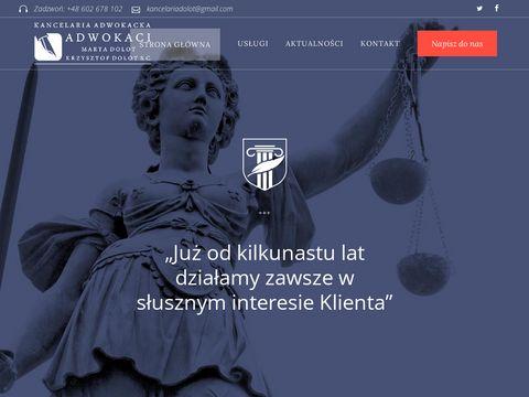 Adwokat Krzysztof Dolot Rzeszów, rozwody, odszkodowania