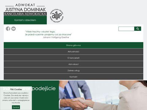 Adwokatdominiak.pl Kancelaria Prawna