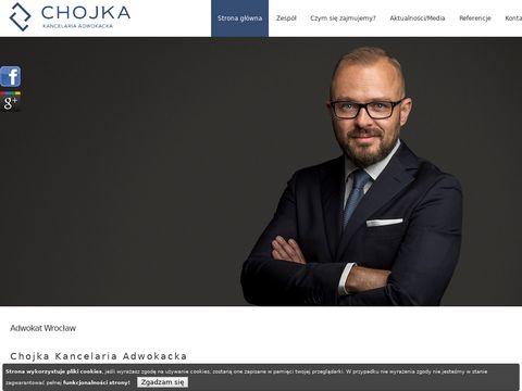 Adwokatchojka.pl kancelaria adwokacka