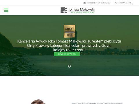Adwokat-makowski.pl prawnik Gdynia