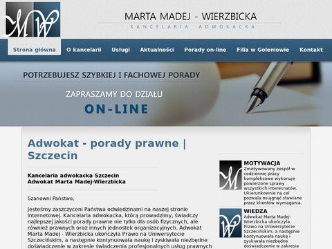 Adwokat-madej.pl Szczecin
