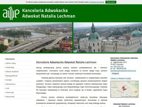 Adwokat-lechman.pl - kancelaria adwokacka Szczecin