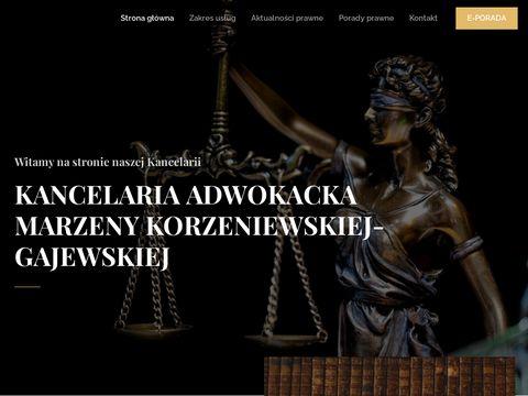 Kancelaria Adwokacka Marzena Korzeniewska