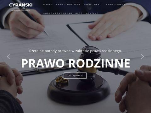 Adwokat-cyranski.com