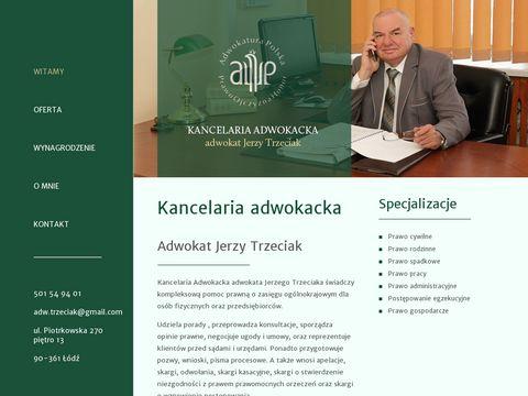 Adwokat-trzeciak.pl Łódź