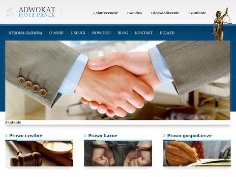 Piotr Panek Kancelaria prawna Warszawa