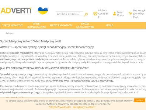 Adverti.com.pl sprzęt rehabilitacyjny