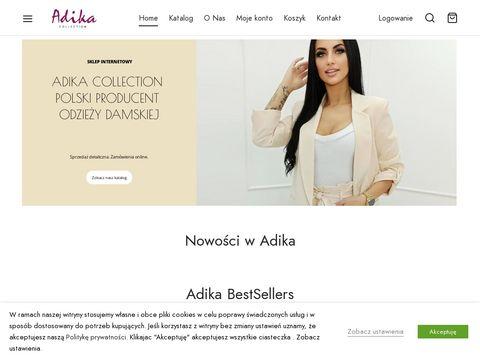 Adikasklep.pl eleganckie płaszcze damskie