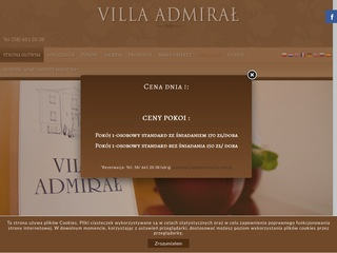 Admiralvilla.com.pl