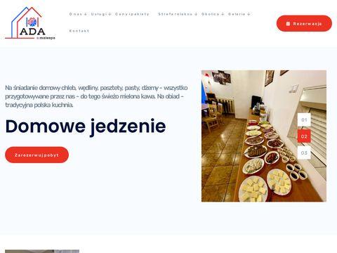 Ada-muszyna.pl kwatery wczasy nocleg