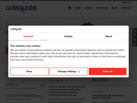Adequate - reklama w internecie
