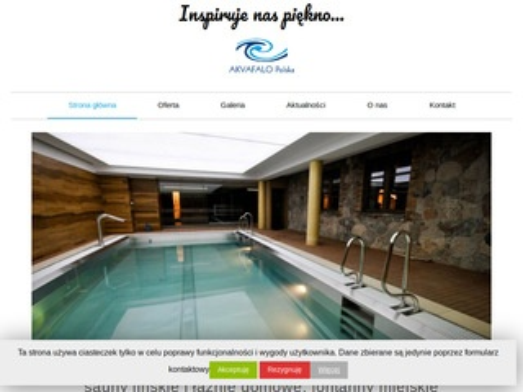 Akvafalo basen domowy Szczecin