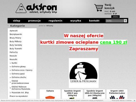 BHP Aktron - odzież robocza