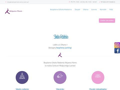 Aktywnamama.com.pl szkoła rodzenia