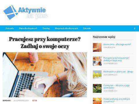 Aktywnienaplus.pl odchudzanie