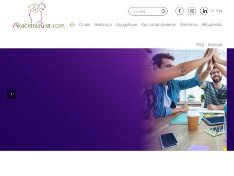 Akademiagier.com gry i zabawy integracyjne
