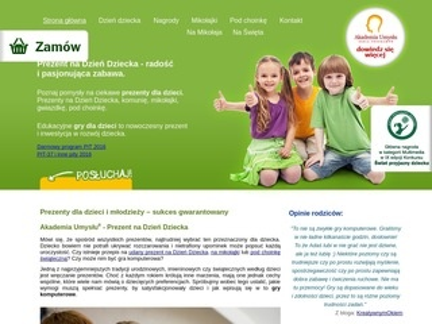 Akademiaumyslu.com.pl programy i gry dla dzieci