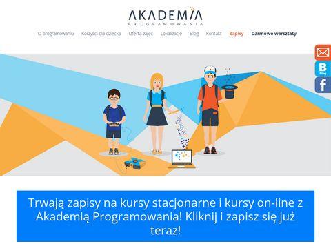 Akademiaprogramowania.pl - półkolonie Kraków