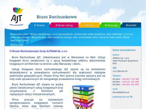 AJT biuro rachunkowe i księgowe Warszawa