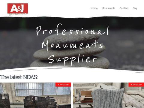 Ajgranit.com nagrobki granitowe z Chin