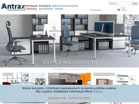 Antrax fabryka mebli biurowych - meble biurowe