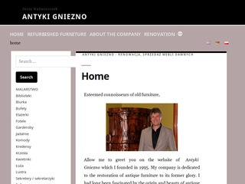 Antyki.gniezno.pl na sprzedaż