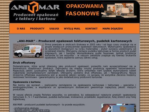 Ani-Mar.pl - opakowania kartonowe
