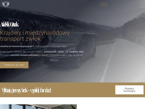 Anielski-orszak.pl międzynarodowy transport zwłok