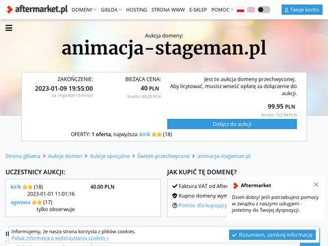 Stageman kurs animatora czasu wolnego