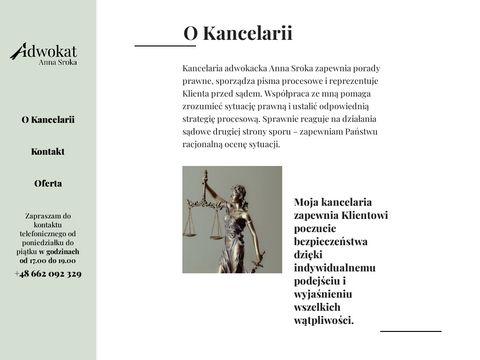 Annasrokaadwokat.pl prawo cywilne Kraków