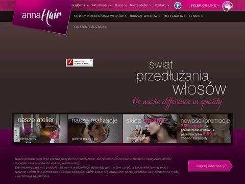AnnaHair - Przedłużanie włosów