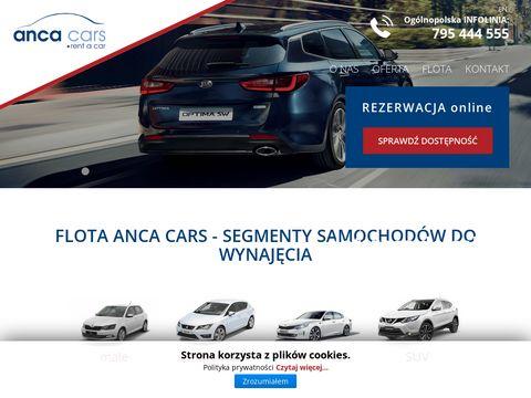Anca Cars wynajem samochodów Kraków