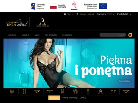 Anais Apparel ekskluzywna bielizna sklep online
