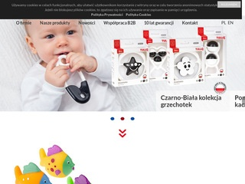 AM Zabawki gumowe dla niemowląt