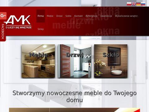 Amkwnetrze.pl meble gabinetowe Elbląg