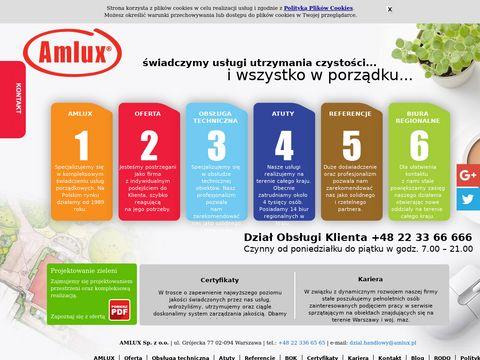 Amlux Warszawa oferty sprzątania