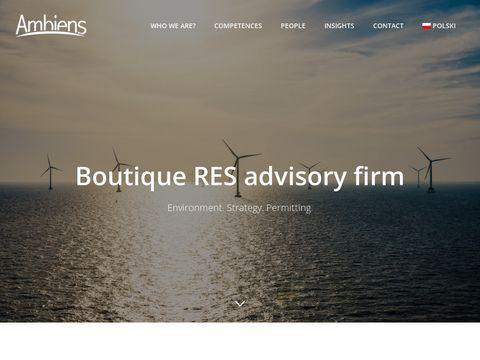 Raport oddziaływania na środowisko - Ambiens