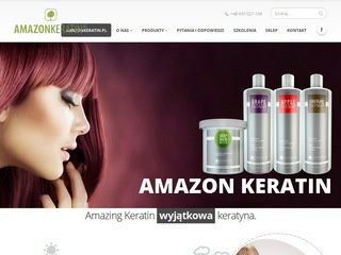 Amazonkeratin.pl wygładzanie włosów keratyną