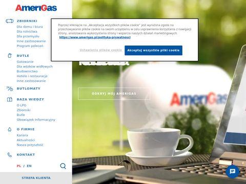 Amerigas.pl - Ogrzewanie na propan butan
