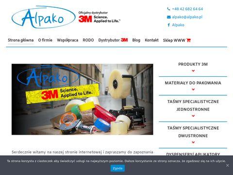 Alpako.pl - materiały samoprzylepne