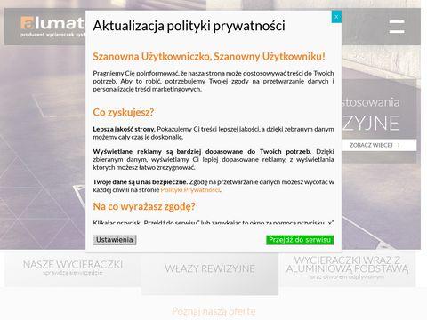 Alumatex.pl - wycieraczki wejściowe