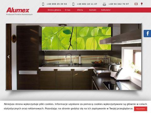 Alumex producent frontów aluminiowych