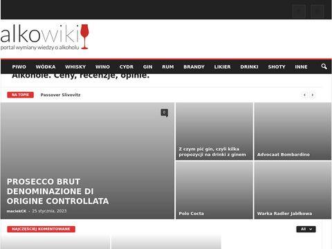 Alkowiki.pl źródło wiedzy o alkoholach