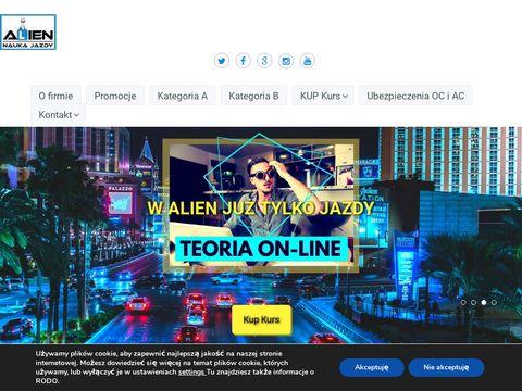 Alien kurs instruktora nauki jazdy Szczecin