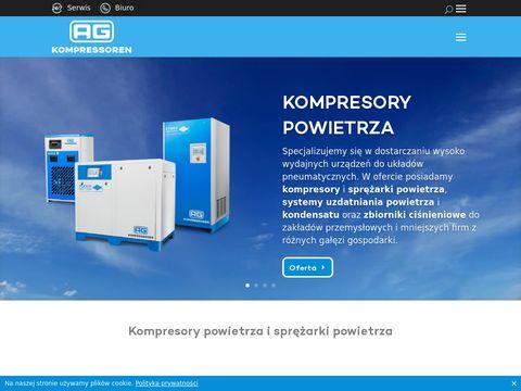 Almig - kompresory śrubowe