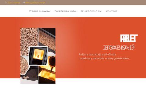 Alleco.com.pl żwirek bentoniczny dla kota