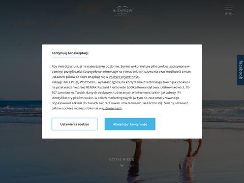 Albatros-jaroslawiec.pl nad morzem