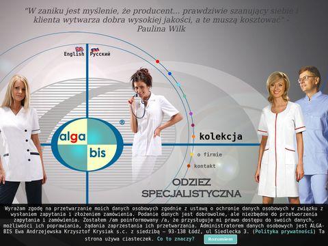 Alga-bis.com.pl odzież medyczna