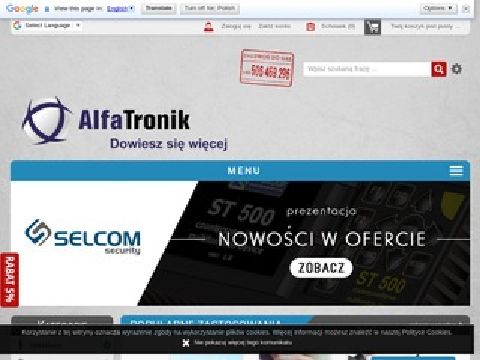 Alfatronik.com.pl